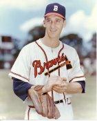 Warren Spahn LIMITED STOCK Milwaukee Braves 8X10 Photo