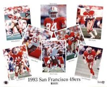 49ers San Francisco 1993 Team LIMITED STOCK 8x10 Photo