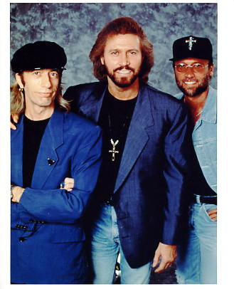 The BeeGees LIMITED STOCK 8X10 Photo
