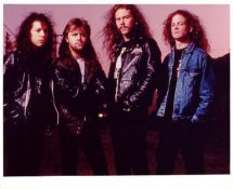 Metallica LIMITED STOCK 8X10 Photo