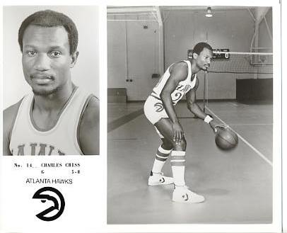 Charles Criss LIMITED STOCK Atlanta Hawks 8X10 Photo