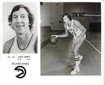 Steve Hawes LIMITED STOCK Atlanta Hawks 8X10 Photo