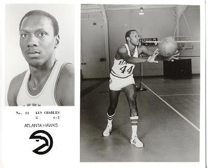 Ken Charles LIMITED STOCK Atlanta Hawks 8X10 Photo