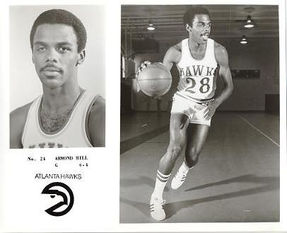 Armond Hill LIMITED STOCK Atlanta Hawks 8X10 Photo