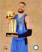 Tyson Chandler 2011 NBA Champs Trophy Dallas Mavericks 8X10 Photo LIMITED STOCK