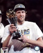 Dirk Nowitzki Game 6 MVP Trophy 2011 NBA Champs Dallas Mavericks 8X10 Photo LIMITED STOCK