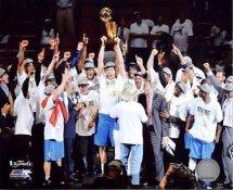 Dallas 2011 Mavericks Celebrate Game 6 2011 NBA Championship  8X10 Photo LIMITED STOCK