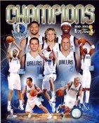 Dallas 2011 Mavericks 2011 NBA Championship Composite  8X10 Photo LIMITED STOCK
