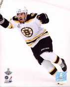Brad Marchand Celebrates Goal 2011 Stanley Cup Finals Game 7 Boston Bruins 8x10 Photo