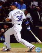 Josh Hamilton Game 3 Home Run 2010 World Series LIMITED STOCK Texas Rangers 8X10 Photo