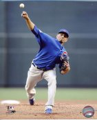 Matt Garza LIMITED STOCK Chicago Cubs 8X10 Photo