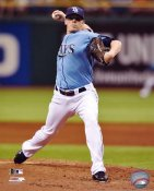 Jeremy Hellickson LIMITED STOCK Tampa Bay Devil Rays 8X10 Photo