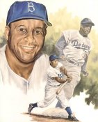 Roy Campanella LIMITED STOCK Los Angeles Dodgers 8X10 Photo