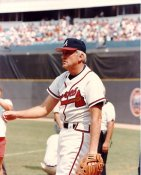 Phil Niekro LIMITED STOCK Atlanta Braves 8X10 Photo