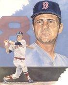 Carl Yastrzemski LIMITED STOCK Boston Red Sox 8x10 Photo