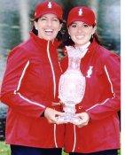 Paula Creamer & Juli Inkster LIMITED STOCK 8X10 Photo