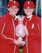 Paula Creamer & Angela Stanford LIMITED STOCK 8X10 Photo