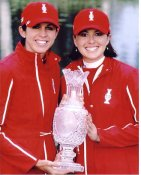Paula Creamer & Stacey Prammanasudh LIMITED STOCK 8X10 Photo