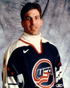 Chris Chelios LIMITED STOCK Team USA Olympics 8X10 Photo
