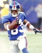 Sinorice Moss LIMITED STOCK New York Giants 8X10 Photo
