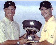 Trevor Immelman & Rory Sabbatini LIMITED STOCK 8X10 Photo