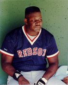 Mo Vaughn LIMITED STOCK Boston Red Sox 8x10 Photo