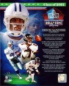 Deion Sanders Hall Of Fame Dallas Cowboys 8X10