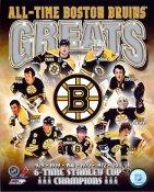 Phil Esposito,Tim Thomas,Zdeno Chara, Bobby Orr,Cam Neely Boston Bruins Greats 8x10 Photo LIMITED STOCK -