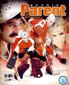 Bernie Parent Philadelphia Flyers SATIN 8x10 Photo