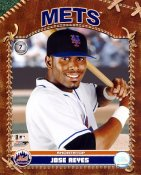 Jose Reyes LIMITED STOCK New York Mets 8X10 Photo