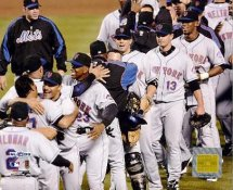 Mets 2006 Team Photo Division Champs Celebration LIMITED STOCK 8X10