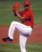 Daisuke Matsuzaka LIMITED STOCK Boston Red Sox 8x10 Photo