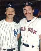 Don Mattingly & Wade Boggs LIMITED STOCK NY Yankees 8X10 Photo