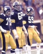 LC Greenwood,  Jack Ham, Brown LIMITED STOCK Pittsburgh Steelers 8x10 Photo