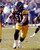 James Farrior LIMITED STOCK Pittsburgh Steelers 8x10 Photo
