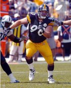 Travis Kirschke LIMITED STOCK Pittsburgh Steelers 8x10 Photo