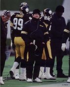 Chuck Noll Coach Pittsburgh Steelers LIMITED STOCK 8X10 Photo