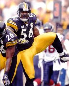 Lamarr Woodley LIMITED STOCK Pittsburgh Steelers 8x10 Photo