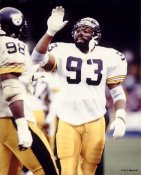 Keith Willis LIMITED STOCK Pittsburgh Steelers 8x10 Photo