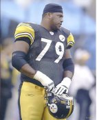 Oliver Ross LIMITED STOCK Pittsburgh Steelers 8x10 Photo