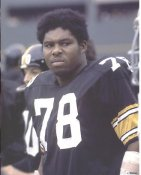 Dwight White LIMITED STOCK Pittsburgh Steelers 8x10 Photo