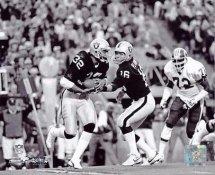 Jim Plunkett & Marcus Allen Oakland Raiders 8X10 Photo