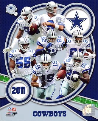 Cowboys 2011 Dallas Team 8X10 Photo