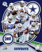 Cowboys 2011 Dallas Team 8X10 Photo