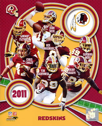 Redskins 2011 Washington Team 8X10 Photo