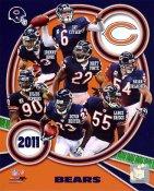 Bears 2011 Chicago Team 8X10 Photo