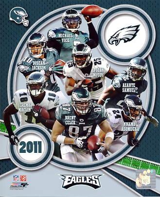 Eagles 2011 Philadelphia Team 8x10 Photo