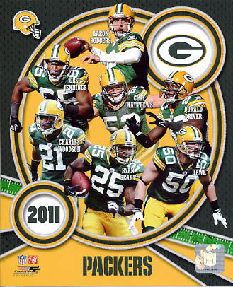 Packers 2011 Green Bay Team 8X10 Photo