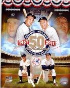Roger Maris & Mickey Mantle 50th Anniversary New York Yankees 8X10 Photo