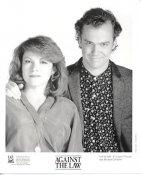 "Elizabeth Ruscio & Michael O'Keefe ""Against The Law"" LIMITED STOCK 8X10 Photo"